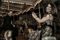 Carousel Couple