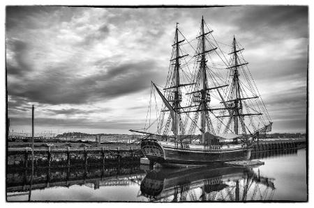 Sailing Ship - Salem, Massachusetts