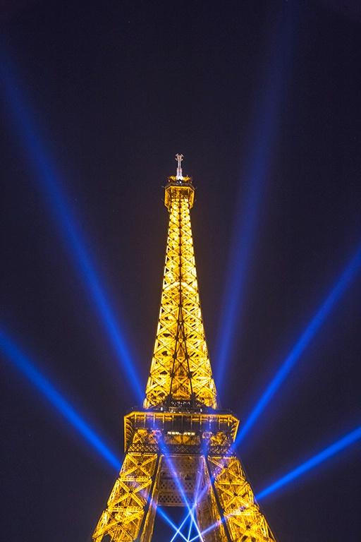 Light Show Paris Style