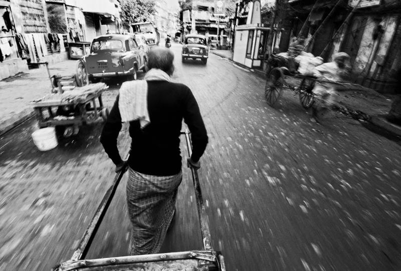 Rickshaw Puller of Kolkata