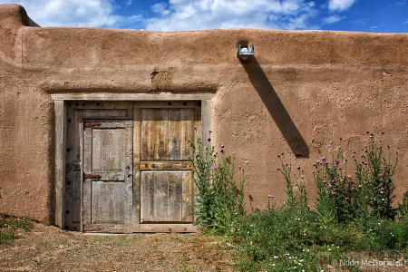 Door at Hacienda Martinez