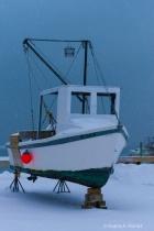 lighting snowstorm scalloper