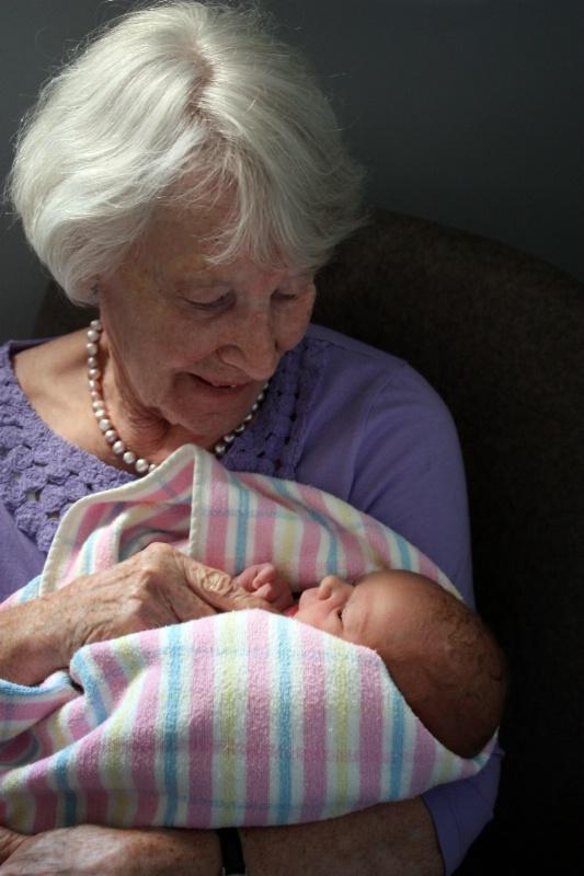 Grandma and me...