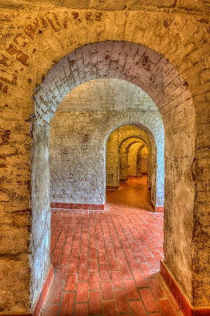 Fort Jackson Arches