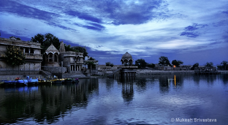 Dawn Time At Gadsisar Lake