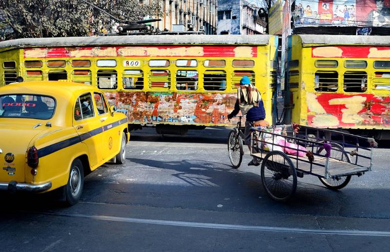 Street Scene of Kolkata