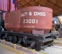 11. iron coal car