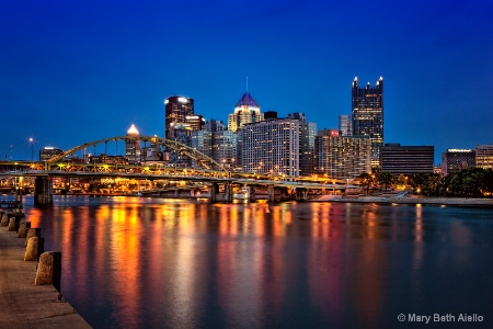 Pittsburgh at Twilight