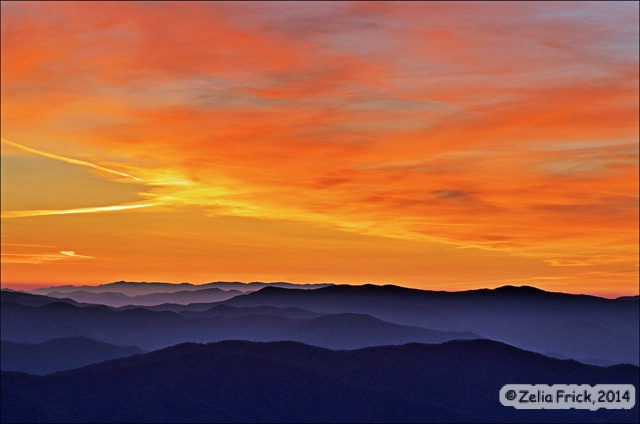 Dawn at Clingmans Dome - ID: 14475234 © Zelia F. Frick
