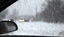 Warm Car In A Snow Storm