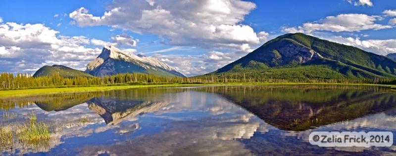 Vermilion Lakes - Banff, Canada - ID: 14476135 © Zelia F. Frick