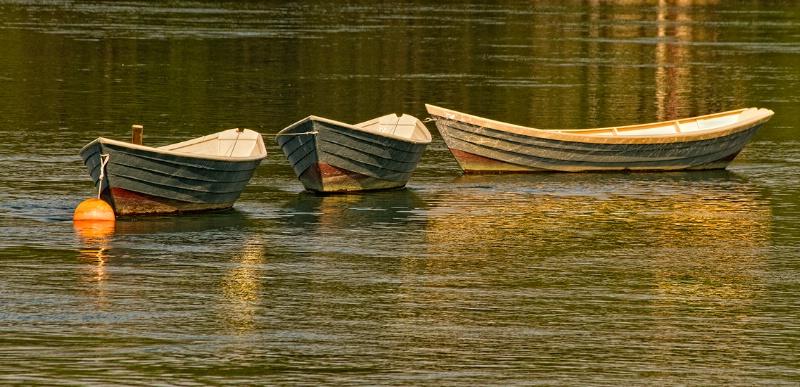 Three Boats, Kennebunkport, Maine - ID: 14477217 © Frank Silverman