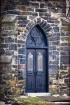 Blue Church Door