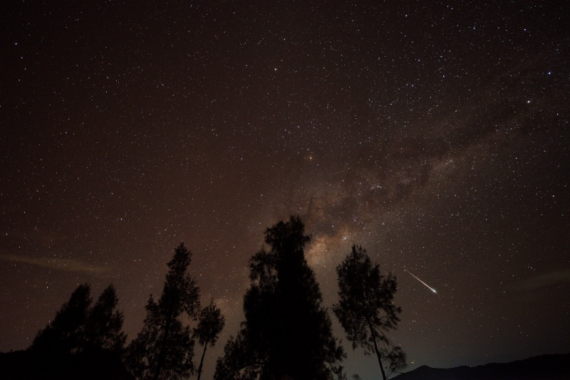 Meteor capture with Milky Way - ID: 14487080 © Magdalene Teo