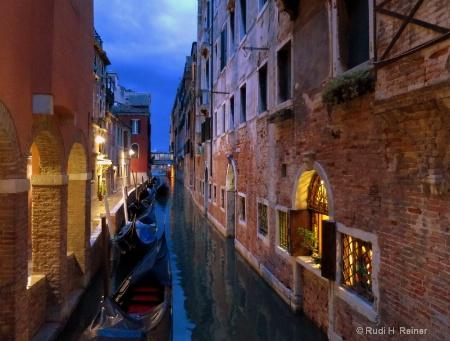 Early evening, Venice