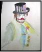 Watercolor clowni...