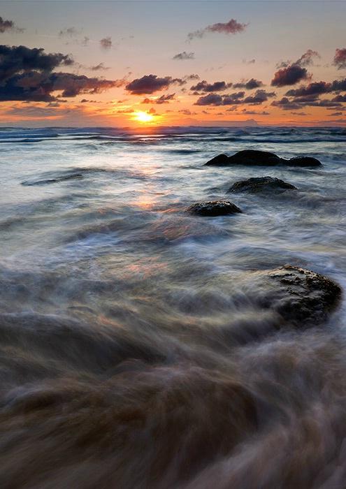 Hug Point Tides Swirl