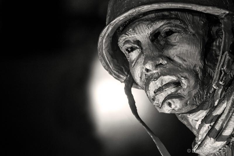 Korean War Memorial Soldier - ID: 14511318 © Don Johnson