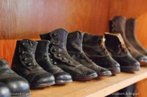Vintage Shoes at Stillwater Museum Shallow DOF