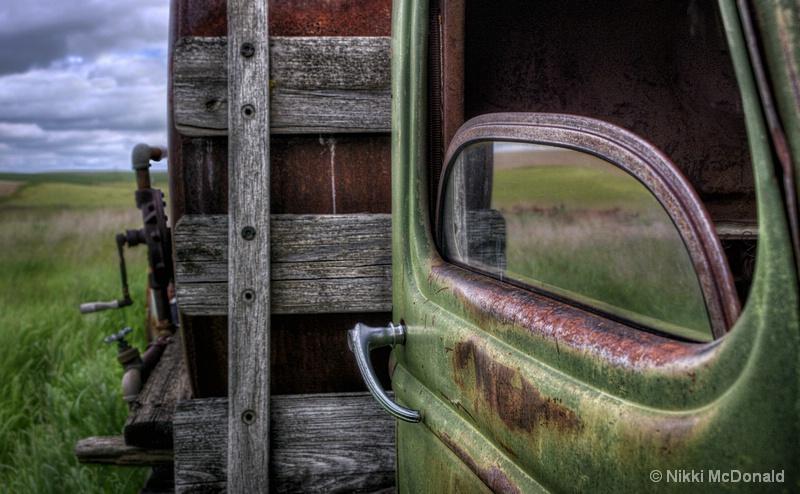 Abandoned Work Truck