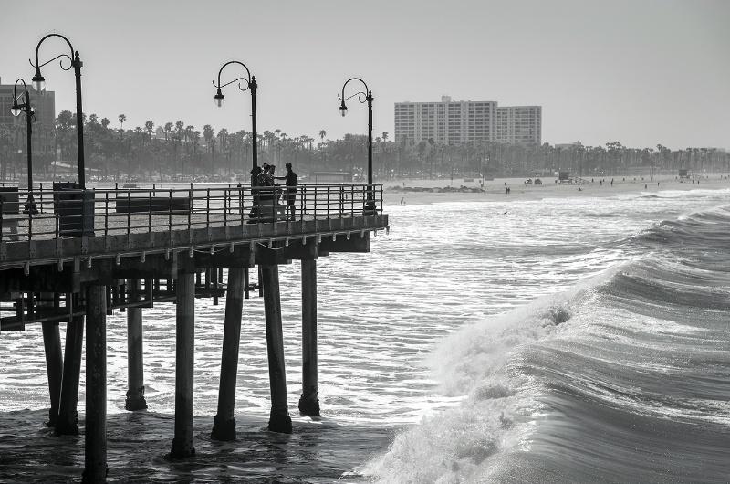 Santa Monica Pier - ID: 14514212 © Kelly Pape