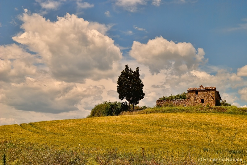 Country house in Val d'Orcia