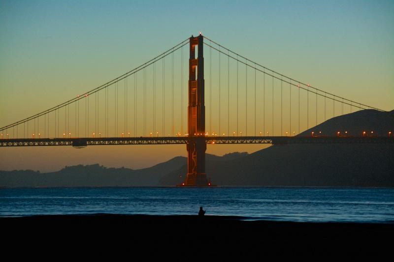 Fisherman, Golden Gate Bridge