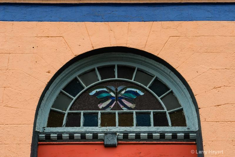 Doorway in Palouse City, WA - ID: 14544245 © Larry Heyert