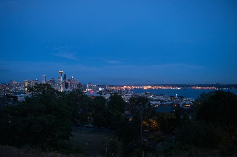 Dusk In Seattle