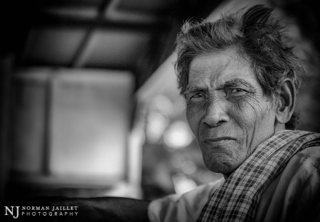 Man in Phnom Penh