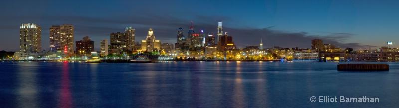 Philadelphia at Dusk - ID: 14558150 © Elliot S. Barnathan
