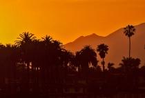 Hotel California sunset shot