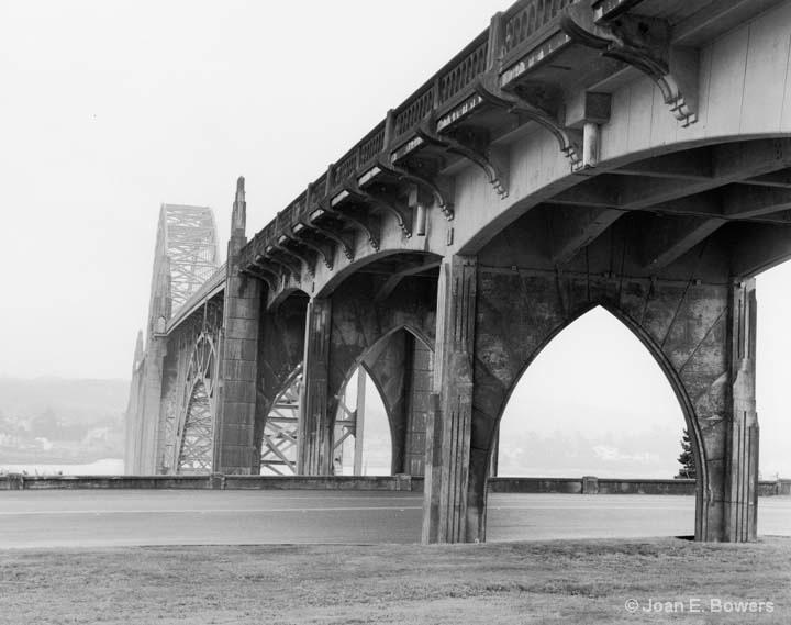 Yaquina Bay Bridge #3 - ID: 14559127 © Joan E. Bowers