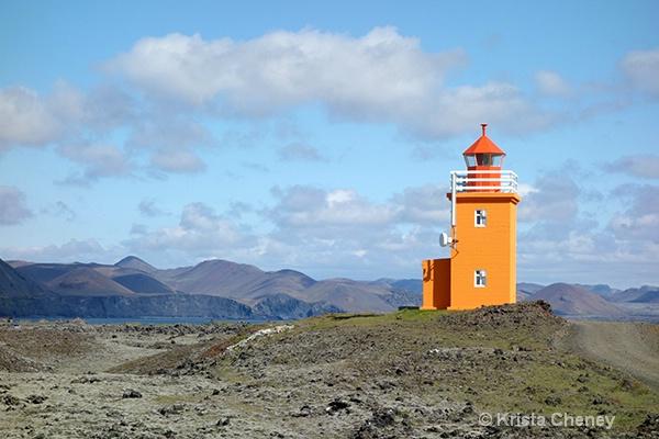Hópnesviti Lighthouse—Grindavik, Iceland - ID: 14564136 © Krista Cheney