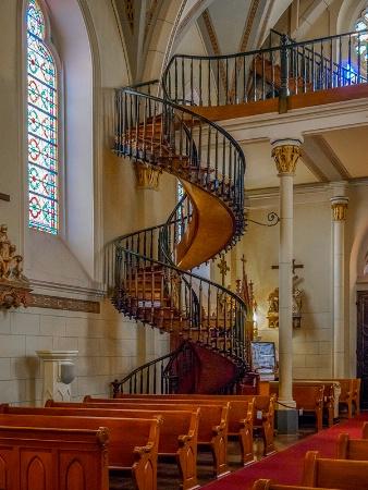 Staircase at Loretto Chapel in Santa Fe