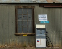 Old Store Front - Gas Pump