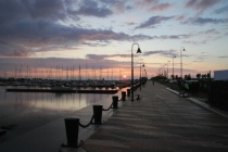 marina sunset 2014