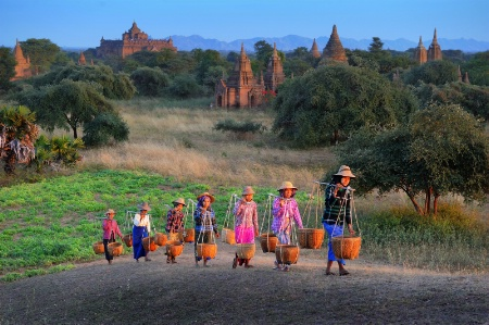 The Group of Women from Bagan