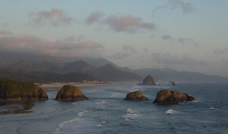 cannon beach evening