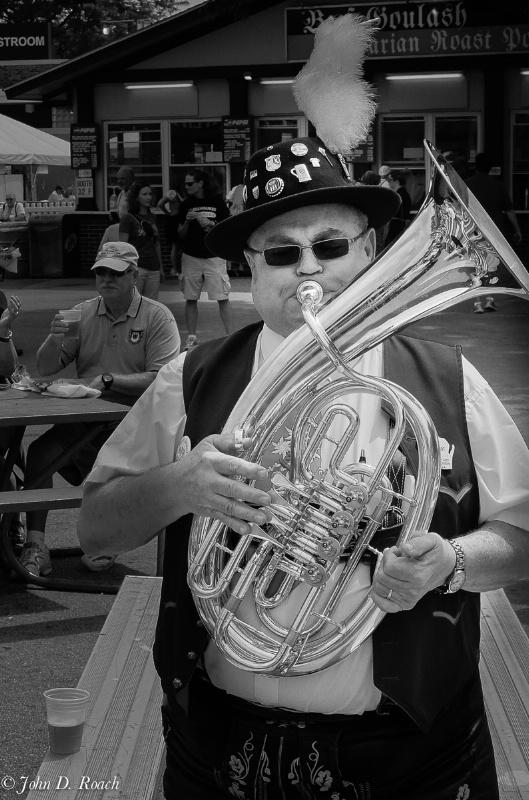 Germanfest Band Member #3 - ID: 14579831 © John D. Roach