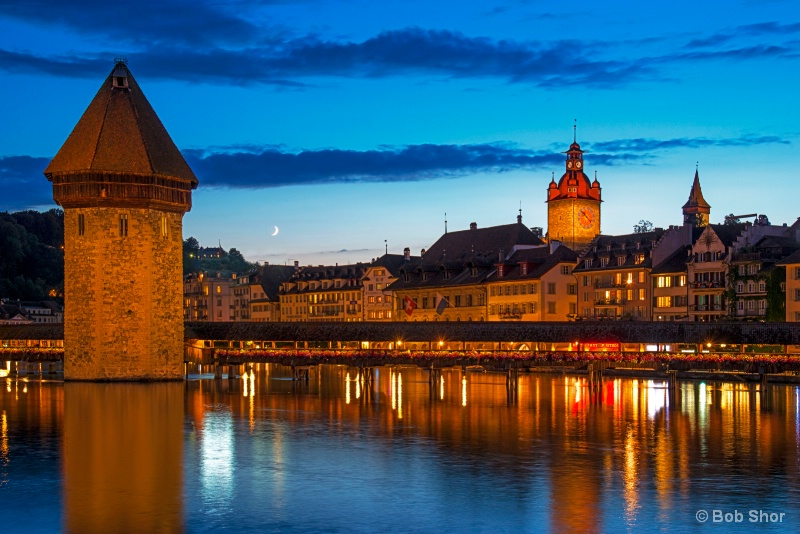 Night Lights of Luzern