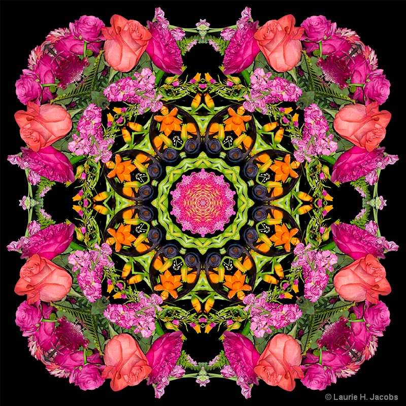 Kaleidoscope #19 - ID: 14583374 © Laurie H. Jacobs