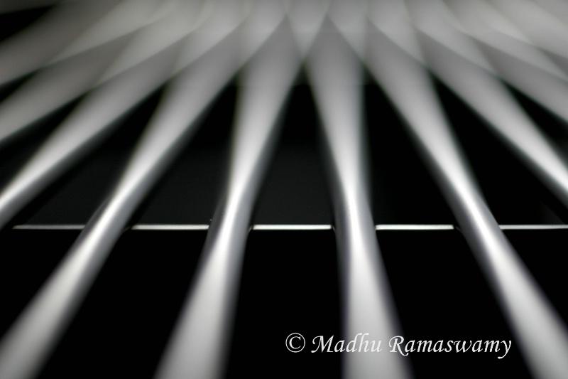 Aluminium rods...