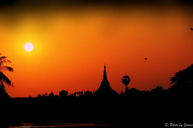 Worshipping Sunset