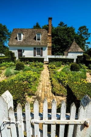 House and Garden, Williamsburg, VA