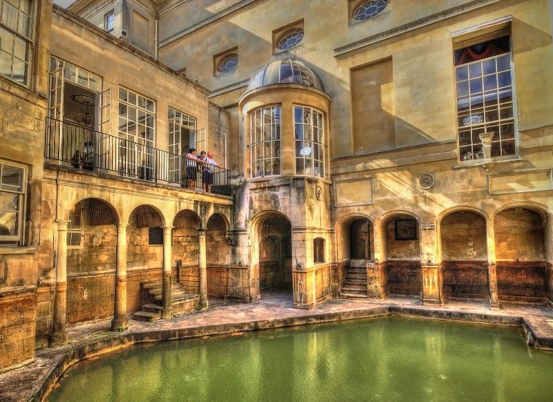 Roman Baths, Bath, UK.