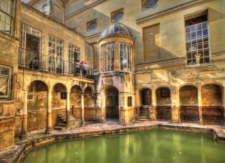 Roman Baths, Bath, UK.