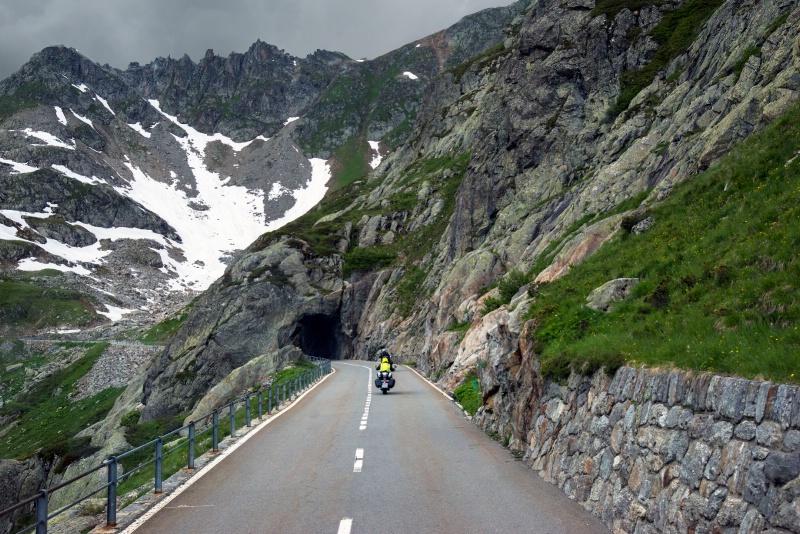 Biking it in Switzerland