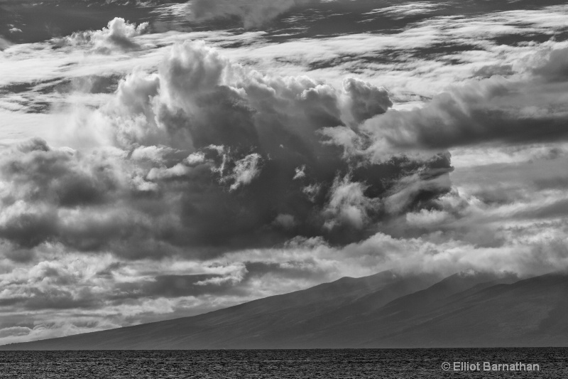 Hawaiian Cloudscape - ID: 14602915 © Elliot S. Barnathan
