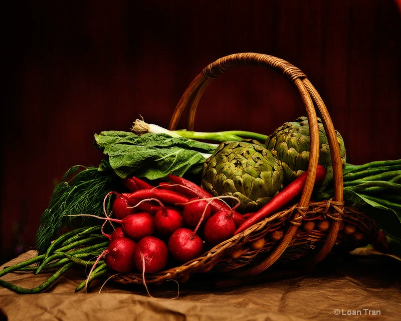 Vegetables Basket - ID: 14605070 © Loan Tran